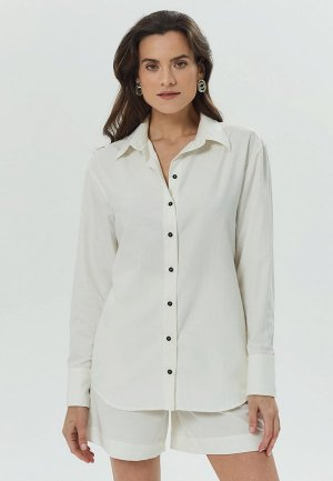 Рубашка Madlen. Цвет: белый