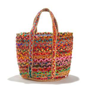 Сумка плетеная разноцветная MOHI CABAS ANTIK BATIK. Цвет: разноцветный