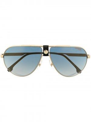 Солнцезащитные очки 1033/S Carrera. Цвет: золотистый