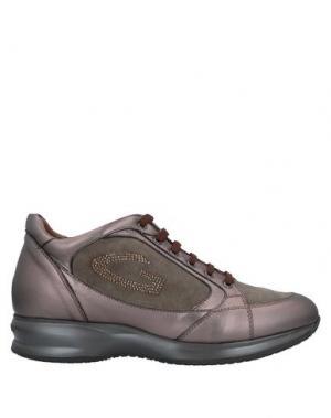 Кеды и кроссовки ALBERTO GUARDIANI. Цвет: бронзовый