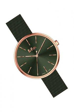 Наручные часы Lee cooper. Цвет: зеленый