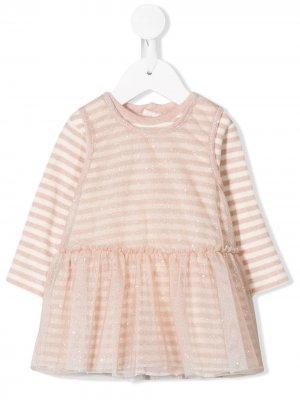 Sparkly striped dress Aletta