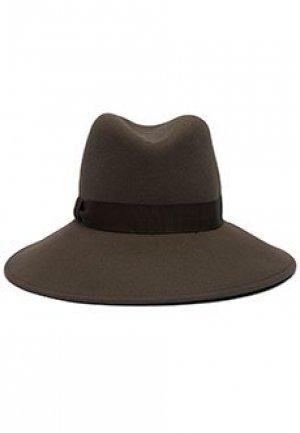 Шляпа LUISA SPAGNOLI. Цвет: коричневый