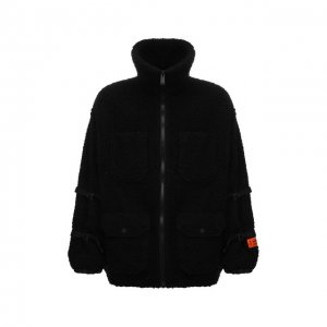 Утепленная куртка Heron Preston. Цвет: чёрный