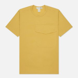 Мужская футболка Exaggerated Pocket Comme des Garcons SHIRT. Цвет: жёлтый