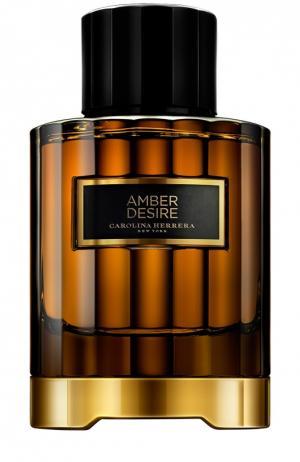 Парфюмерная вода Amber Desire Carolina Herrera. Цвет: бесцветный