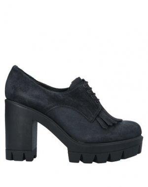 Обувь на шнурках LOGAN. Цвет: черный