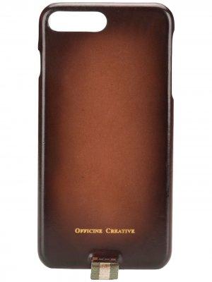 Чехол для iPhone 7/8 Officine Creative. Цвет: коричневый