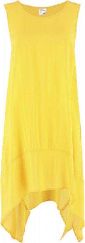 Туника женская , размер 48 Joss. Цвет: желтый