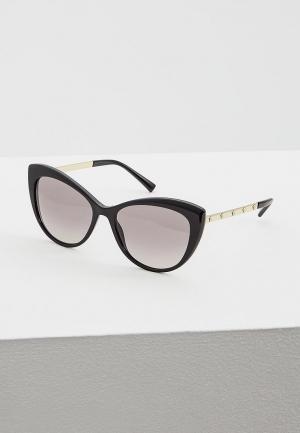 Очки солнцезащитные Versace VE4348 GB1/11. Цвет: черный