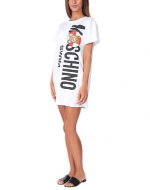 Пляжное платье MOSCHINO. Цвет: слоновая кость