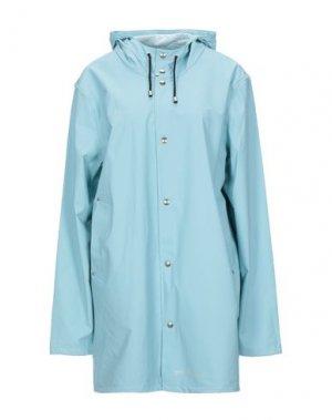Легкое пальто STUTTERHEIM. Цвет: небесно-голубой