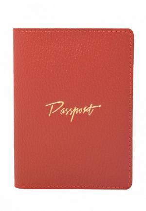 Обложка для паспорта BB1. Цвет: красный