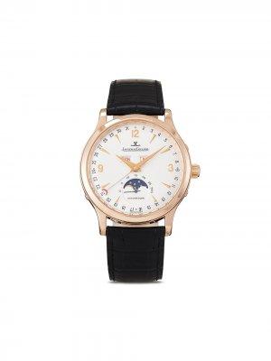 Наручные часы Master Moon pre-owned 37 мм 2002-го года Jaeger-LeCoultre. Цвет: белый