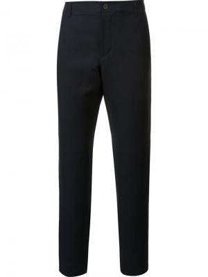 Классические брюки A.P.C.. Цвет: синий