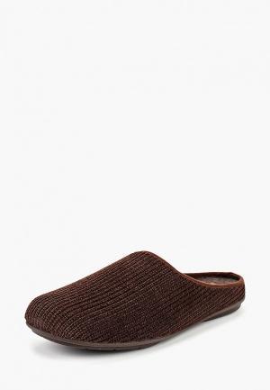 Тапочки Costa. Цвет: коричневый