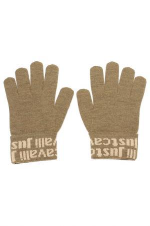 Перчатки Just Cavalli. Цвет: 825 хаки