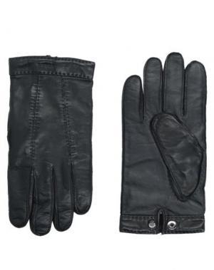 Перчатки BURBERRY. Цвет: черный