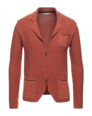 Пиджак BL.11 BLOCK ELEVEN. Цвет: кирпично-красный