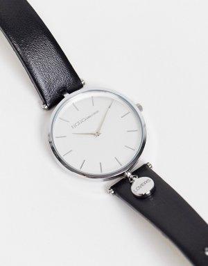 Часы с черным ремешком и циферблатом BCBG Max Azria-Черный цвет MaxAzria