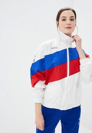 Ветровка Zasport. Цвет: белый