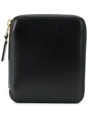Zip around wallet Comme Des Garçons. Цвет: чёрный