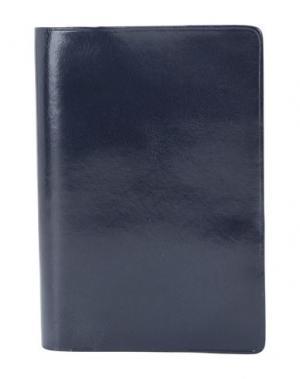 Чехол для документов IL BUSSETTO. Цвет: темно-синий