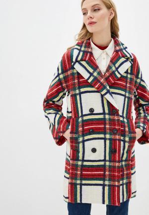 Пальто Desigual. Цвет: разноцветный