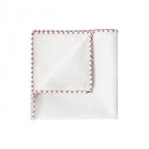 Хлопковый платок Brunello Cucinelli. Цвет: красный