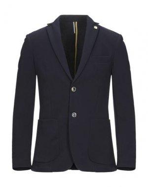 Пиджак SSEINSE. Цвет: темно-синий