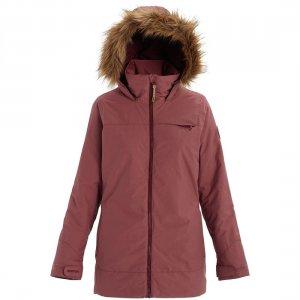 Куртка для сноуборда Lelah Jacket Burton. Цвет: розовый