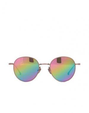 Солнечные очки KOMONO. Цвет: бронзовый