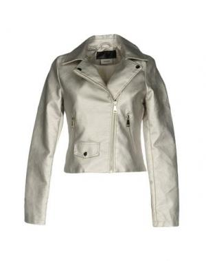 Куртка MAISON 9 Paris. Цвет: серебристый