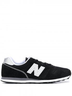 Кроссовки 373 с логотипом New Balance. Цвет: черный