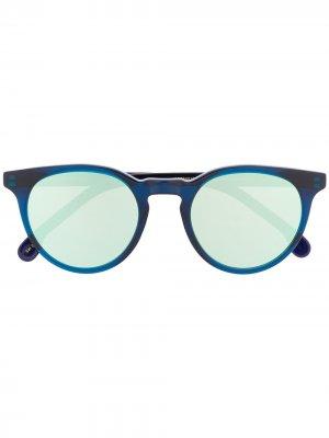 Солнцезащитные очки Archer с затемненными линзами PAUL SMITH EYEWEAR. Цвет: синий