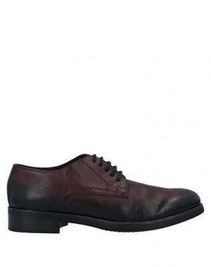 Обувь на шнурках JP/DAVID. Цвет: красно-коричневый
