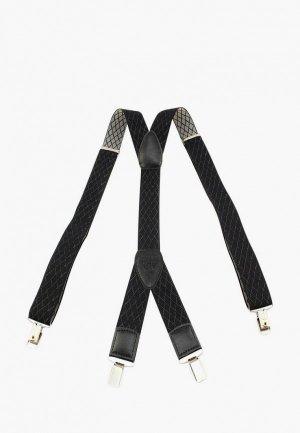 Подтяжки Stilmark. Цвет: черный