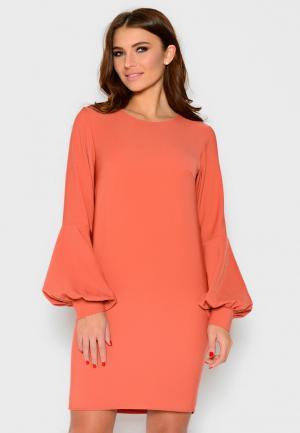 Платье Irma Dressy. Цвет: оранжевый