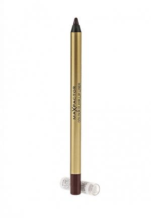 Карандаш для губ Max Factor Colour Elixir Lip Liner, 8 Mauve Mistress, 1,2 гр. Цвет: коричневый