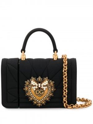 Чехол для AirPods Devotion Dolce & Gabbana. Цвет: черный