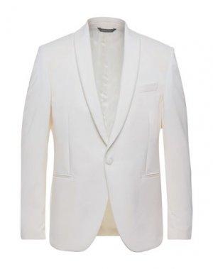 Пиджак PULITO. Цвет: белый