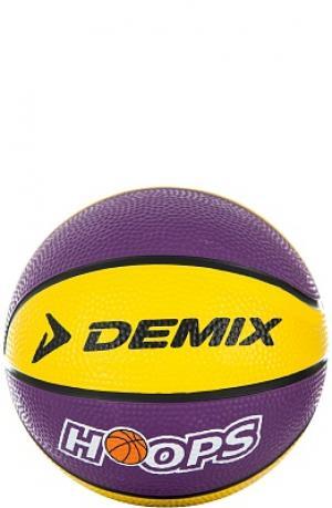 Мяч баскетбольный мини Demix. Цвет: фиолетовый