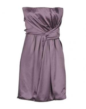 Короткое платье JASMINE DI MILO. Цвет: светло-коричневый