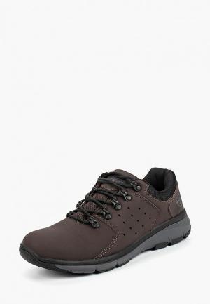 Ботинки трекинговые Ascot. Цвет: коричневый