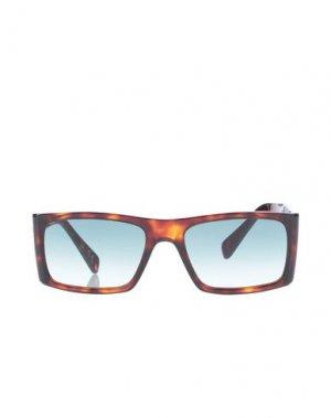 Солнечные очки ITALIA INDEPENDENT. Цвет: темно-коричневый