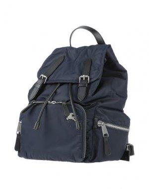 Рюкзаки и сумки на пояс BURBERRY. Цвет: темно-синий