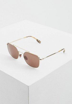 Очки солнцезащитные Burberry BE3107 110973. Цвет: коричневый