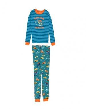 Пижама HATLEY. Цвет: бирюзовый
