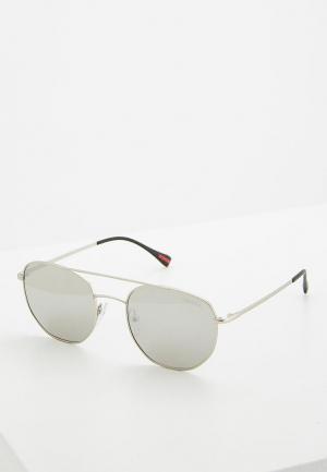 Очки солнцезащитные Prada Linea Rossa PS 56SS 1AP2B0. Цвет: серый