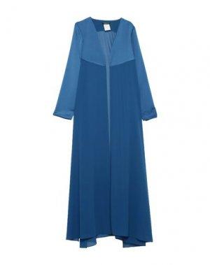 Легкое пальто ALESSANDRO LEGORA. Цвет: синий